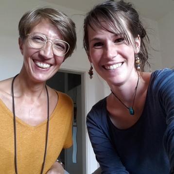 Antje und ich Juli 2019